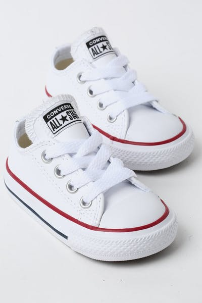 d70e240f819 Converse Infant Chuck Taylor All Star OX White Red Navy