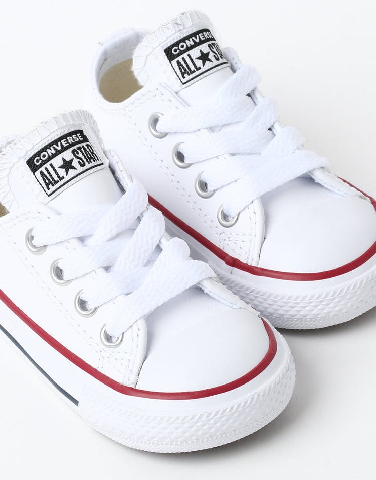 603018ea3c01 Converse Infant Chuck Taylor All Star OX White Red Navy