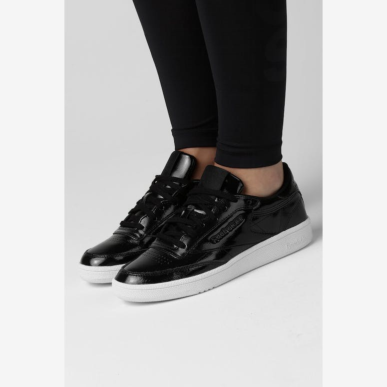 23391fc279d Reebok Women s Club C 85 Patent Black White – Culture Kings