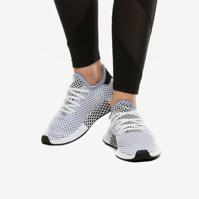 Adidas Originals Women's Deerupt Runner Blue/Black/White