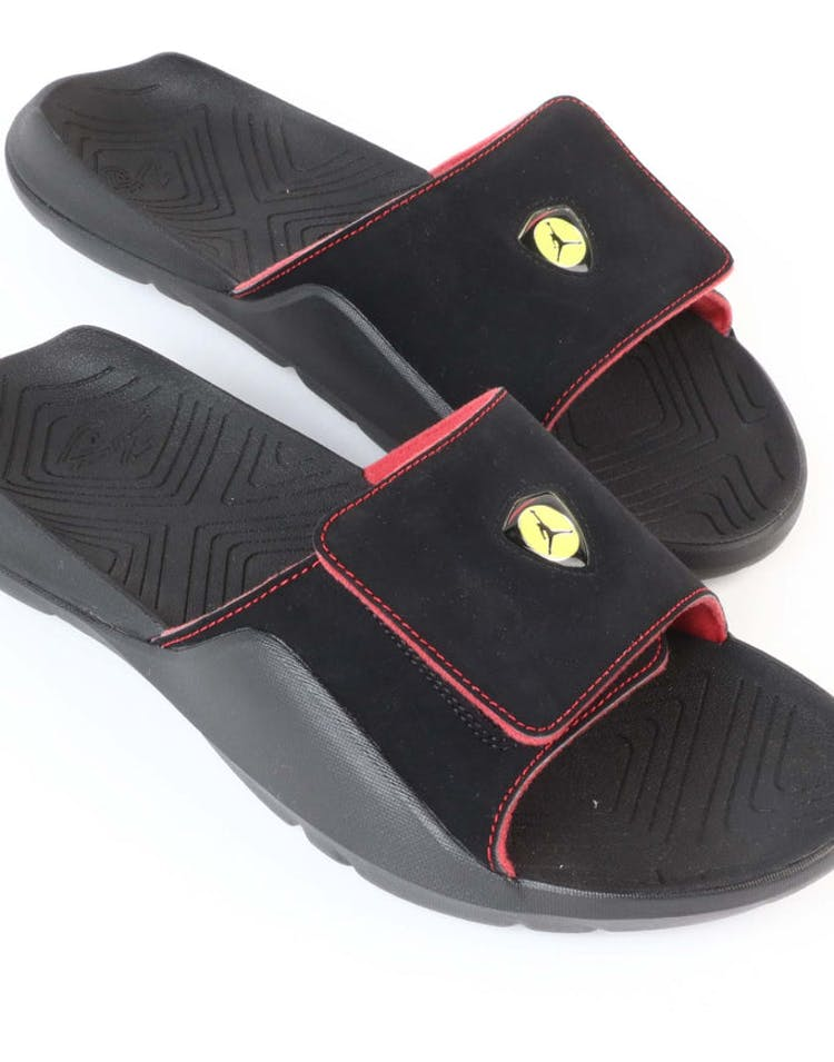2be0830150c Jordan Hydro 7 Slide Black/Red | AA2517 003 – Culture Kings