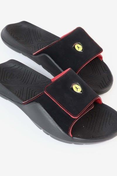 eb9ce7a76049be Jordan Hydro 7 Slide Black RedJordan Hydro 7 Slide Black Red