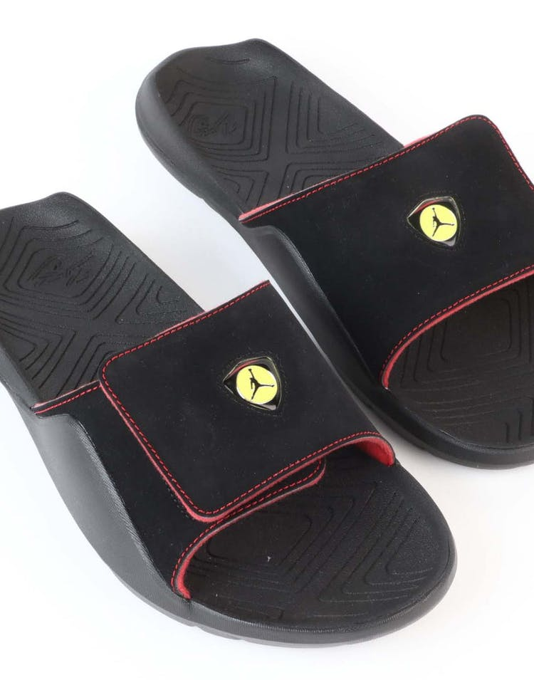 b2e07c12001 Jordan Hydro 7 Slide Black/Red | AA2517 003 – Culture Kings