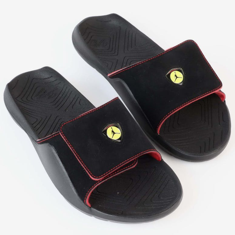052ba75d209267 Jordan Hydro 7 Slide Black Red