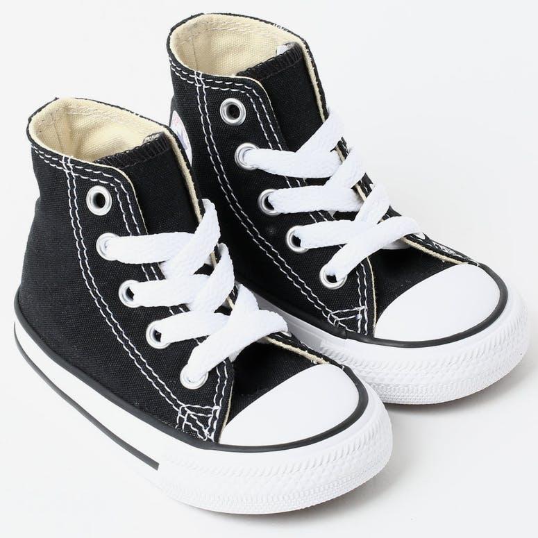 937c851d4e38 CONVERSE INFANT CHUCK TAYLOR ALL STAR HI BLACK WHITE – Culture Kings