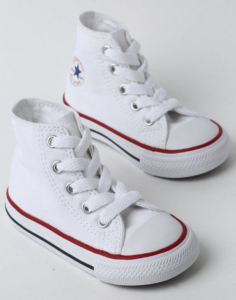 078fb3514085 CONVERSE INFANT CHUCK TAYLOR ALL STAR HI WHITE RED NAVY – Culture Kings