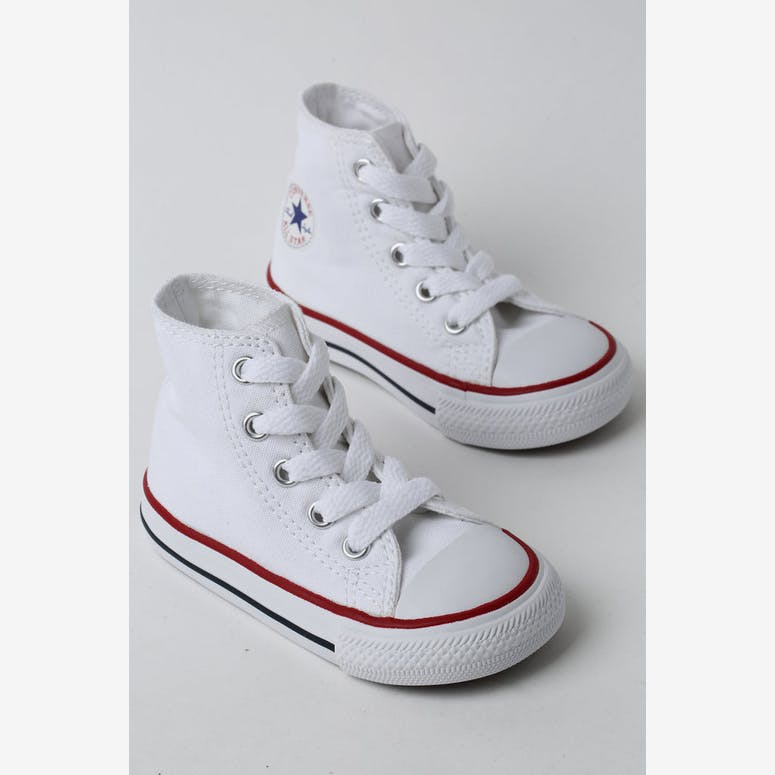 0f02f2c6947 CONVERSE INFANT CHUCK TAYLOR ALL STAR HI WHITE RED NAVY – Culture Kings