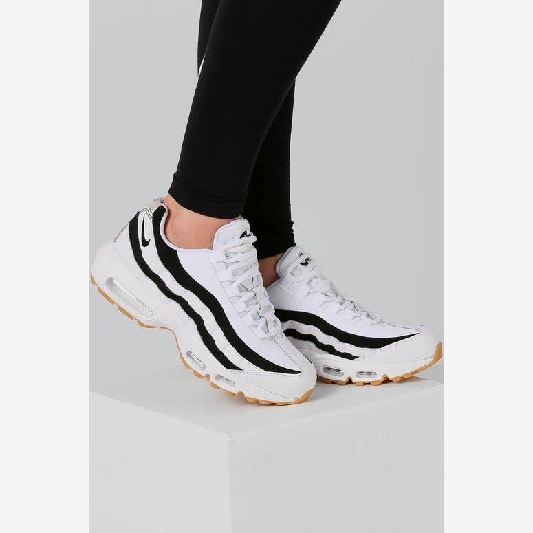 0313131441e2 Nike Women s Air Max 95 OG White Black Gum