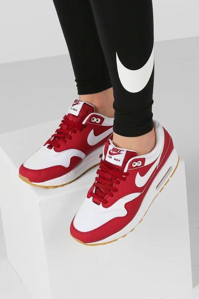 promo code 4499a db6da Nike Women s Air Max 1 Red White Gum