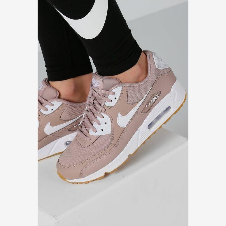 sale retailer 1467e ef8fe Nike Womens Air Max 90 TaupeWhiteGum  325213 210 – Culture K