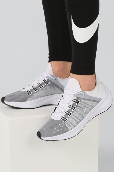 half off 9e2aa a8173 Nike Women s EXP-X14 White Grey Black