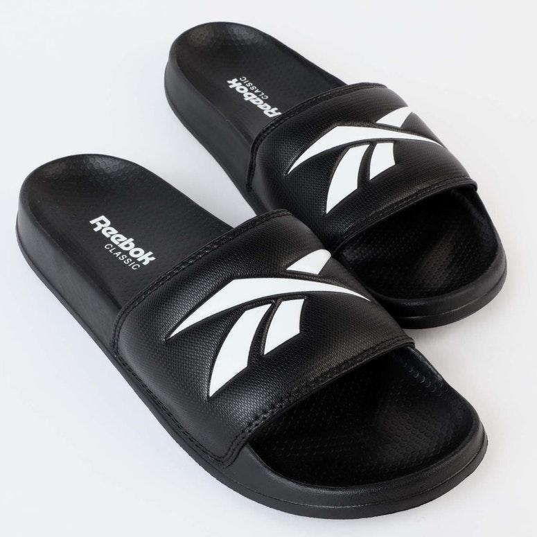 8833c89df Reebok Classic Slide V Black White