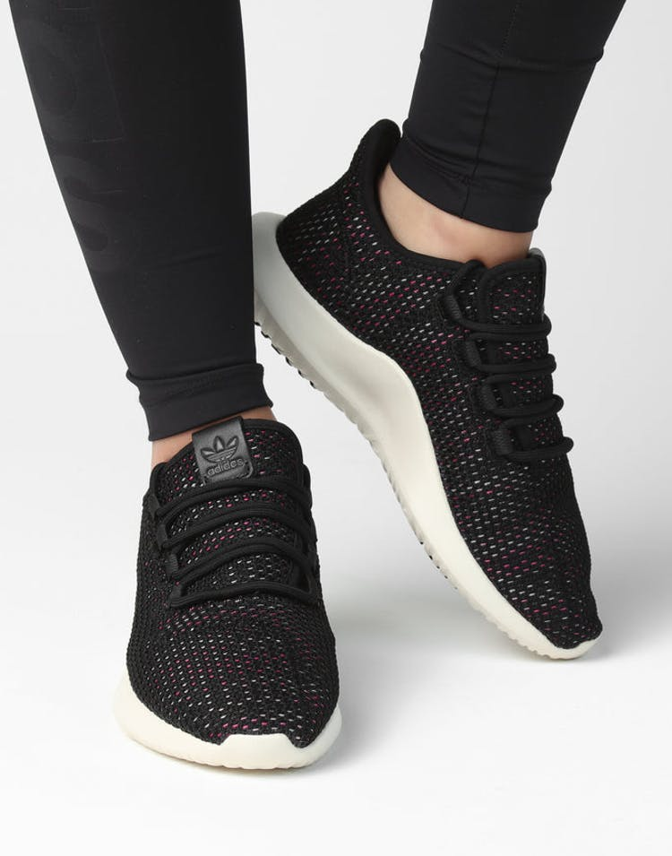 super popular ef7b0 34ac4 Adidas Originals Women's Tubular Shadow CK Black/White/Multi