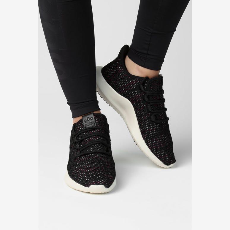 4bcb6a6fb005 Adidas Women s Tubular Shadow CK Black White Multi