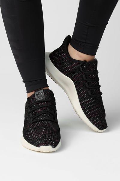 8e6bbfec646 Adidas Originals Women s Tubular Shadow CK Black White Multi
