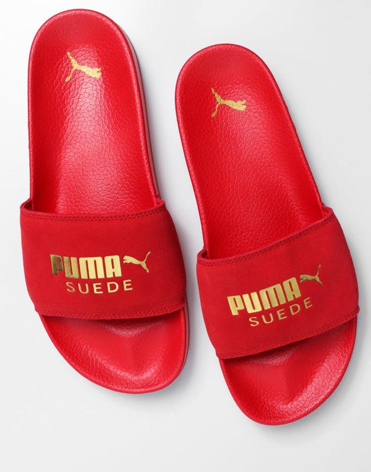0e2a45da2341 Puma Leadcat Suede Red Gold – Culture Kings