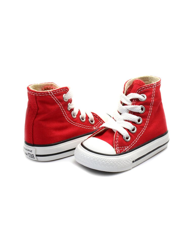 82f04e92edaa Converse Infant Chuck Taylor All Star Hi Red Black White – Culture Kings
