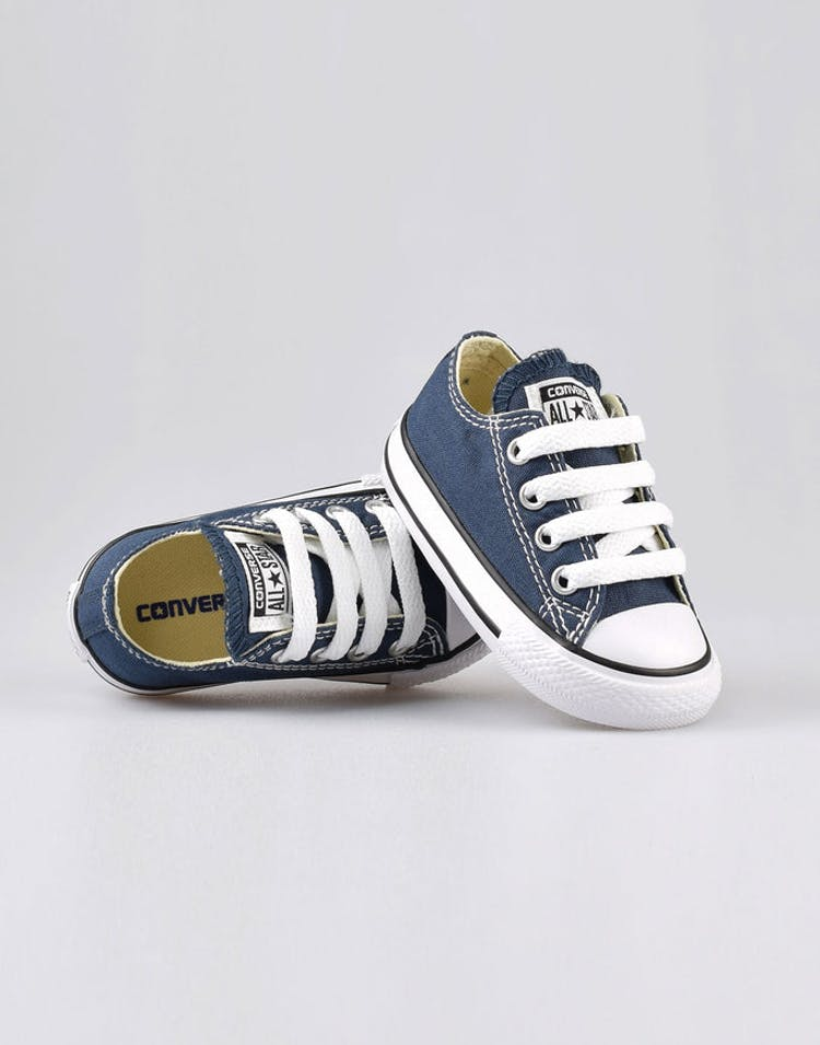 75c939acdf43 Converse Infant Chuck Taylor All Star Lo Navy Black White – Culture Kings