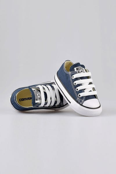 76dd4de5252 Converse Infant Chuck Taylor All Star Lo Navy Black White