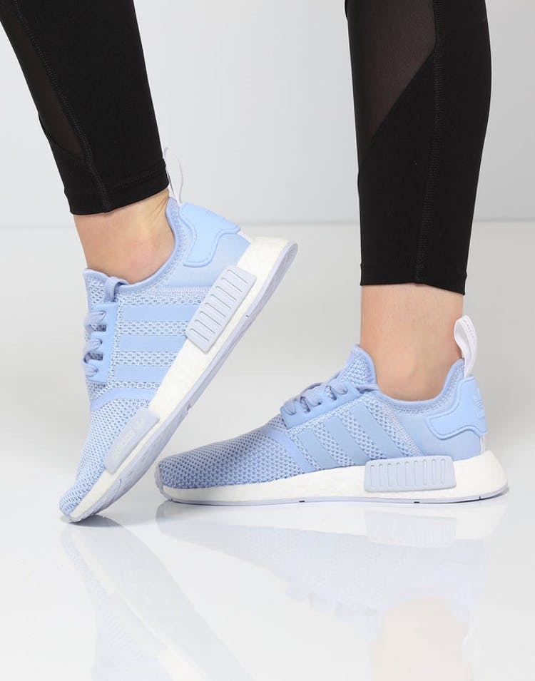 f31efa6cb Adidas Women s NMD R1 Light Blue White