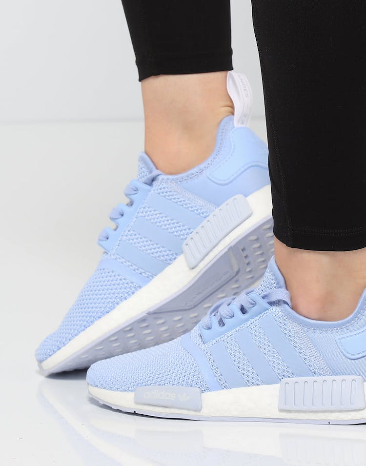 meilleures baskets c67ec 963d6 Adidas Women's NMD R1 Light Blue/White