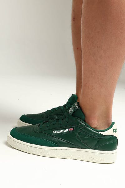 0c3258e86ce Reebok Club C 85 MU Green Off White