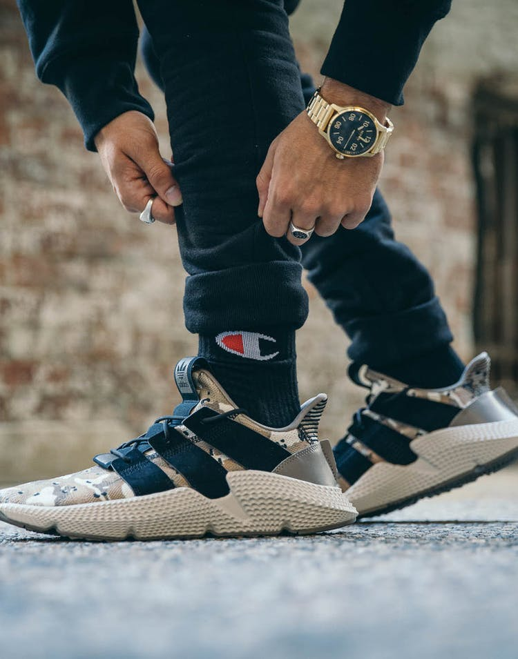 famous brand good out x low priced Adidas Prophere Brown/Black