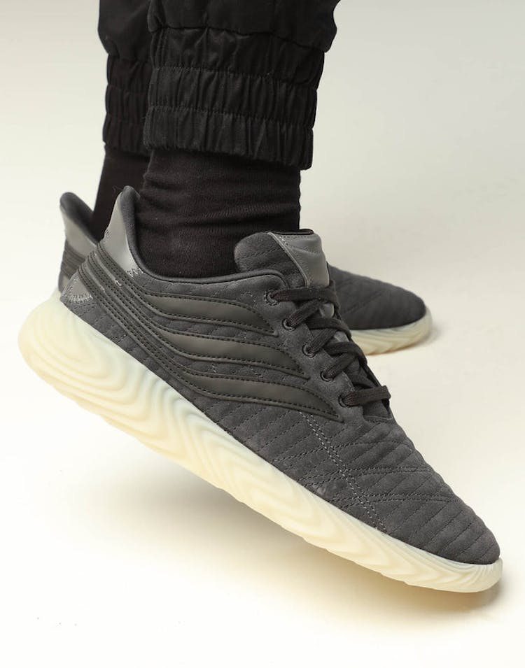 check out d2195 2ae30 Adidas Sobakov Carbon Black – Culture Kings