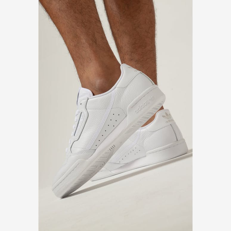 Adidas CONTINENTAL 80 White White – Culture Kings 0bc30cd1e