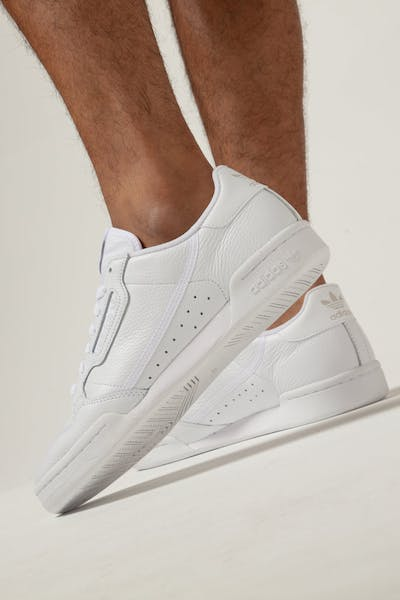 brand new 72f3d 97d68 Adidas CONTINENTAL 80 WhiteWhite