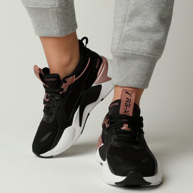 e08cae18af0 Puma RS-X Trophy Black Rose Gold – Culture Kings