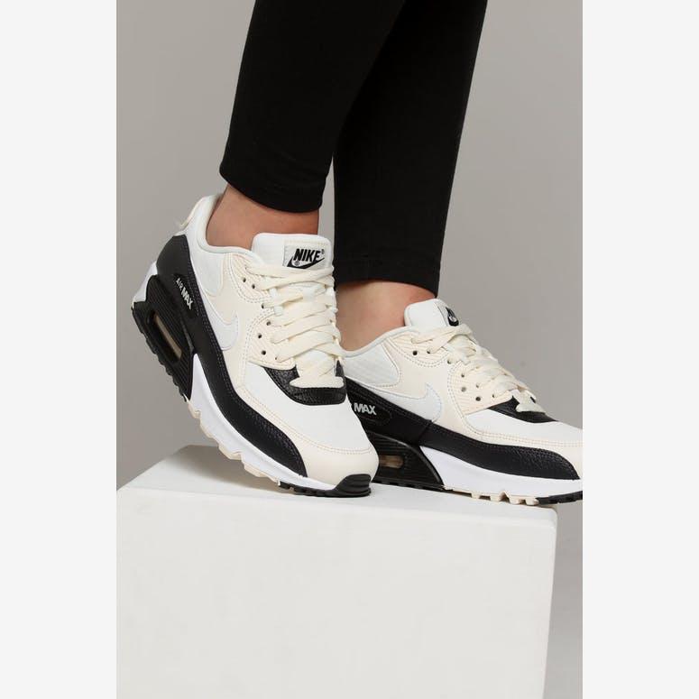 Nike Women s Air Max 90 Off White Black – Culture Kings 568b5e39f