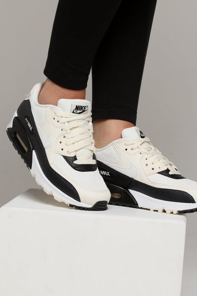 5049c341f835 Nike Women s Air Max 90 Off White Black