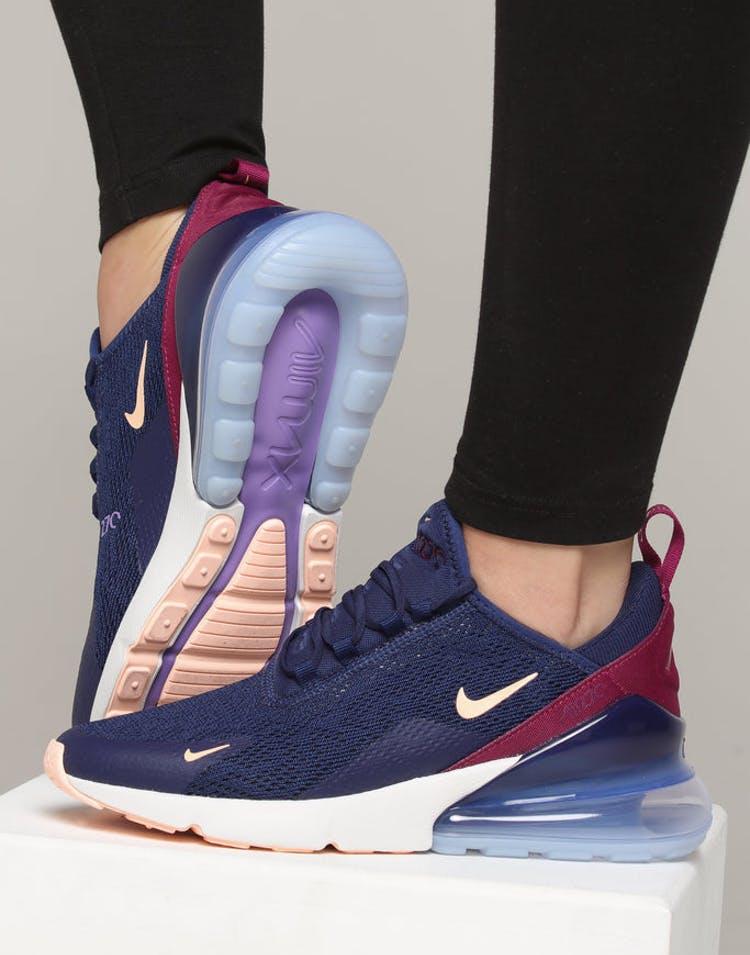 d25e57285d Nike Women's Air Max 270 dark Blue/Crimson – Culture Kings