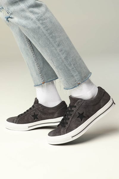 Converse One Star (Dark Star) Black/White