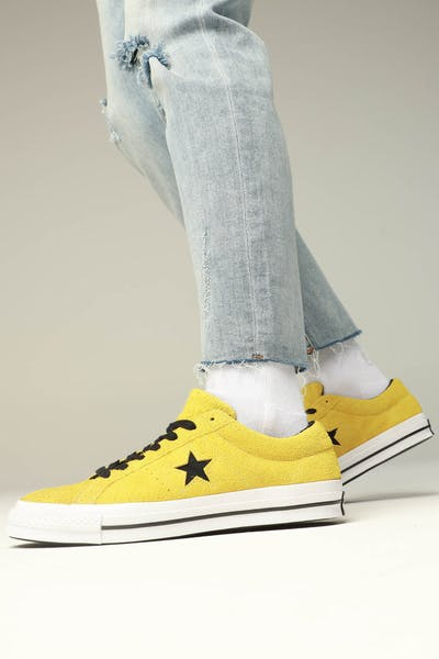 Converse One Star (Dark Star) Yellow/White