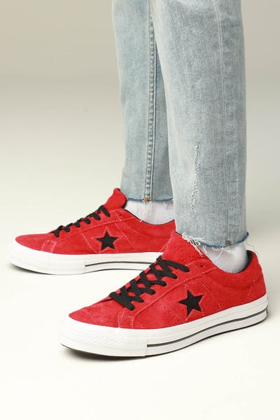 Converse One Star (Dark Star) Red/White