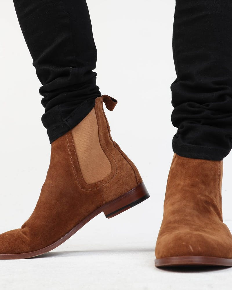 SAINT MORTA NOMAD CHELSEA BOOT BROWN