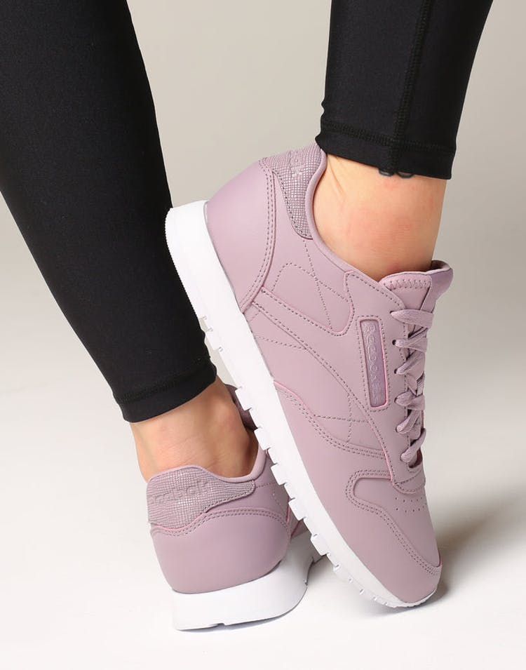 34e3a154a44 Reebok Women s Classic Leather Lilac White – Culture Kings