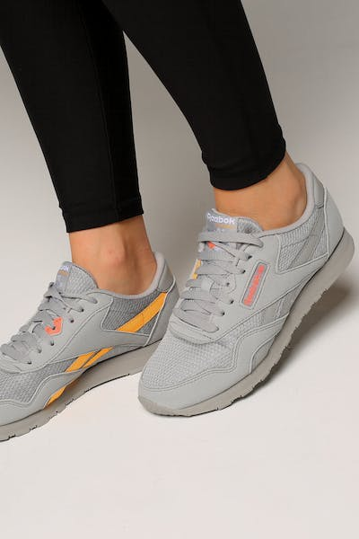 Reebok Women's Nylon TXT Grey/Pink/Gold
