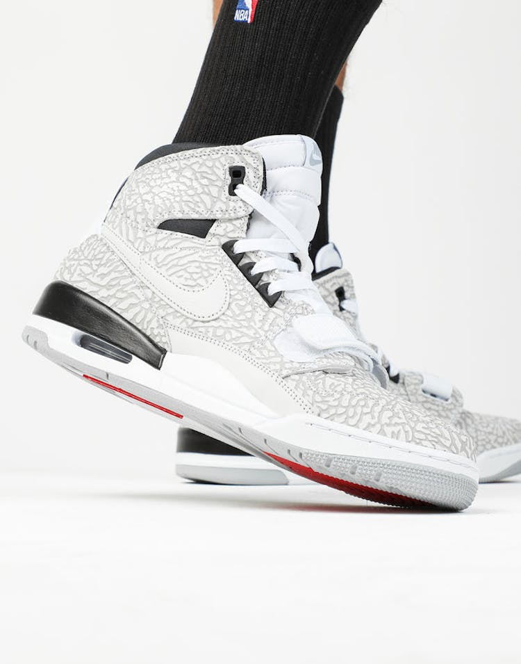 new arrival aec5b d34ce Jordan Air Jordan Legacy 312 White White Black – Culture Kings