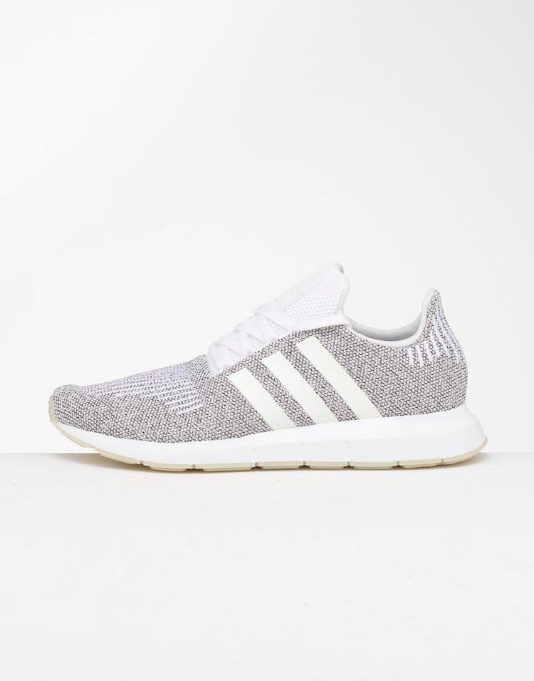 half off 206ce 31531 Adidas Swift Run White/White/Black