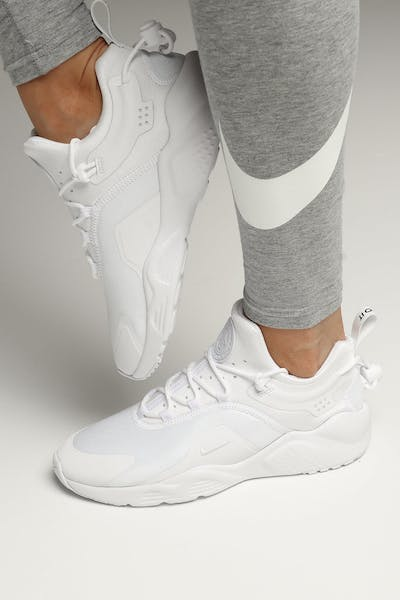 Nike Women's Air Huarache City Move White/White/Black