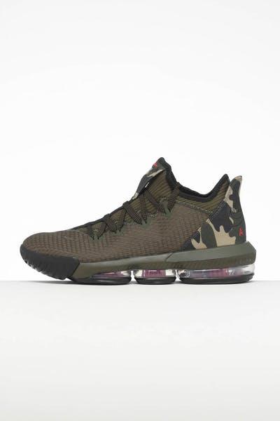 7fca7ae5c8c0 Nike LeBron XVI Low CP Khaki Black