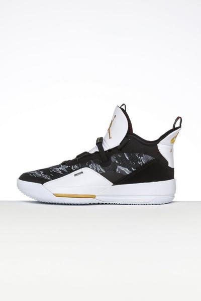 2ef8ef0db52c Jordan Air Jordan XXXIII Black Gold White