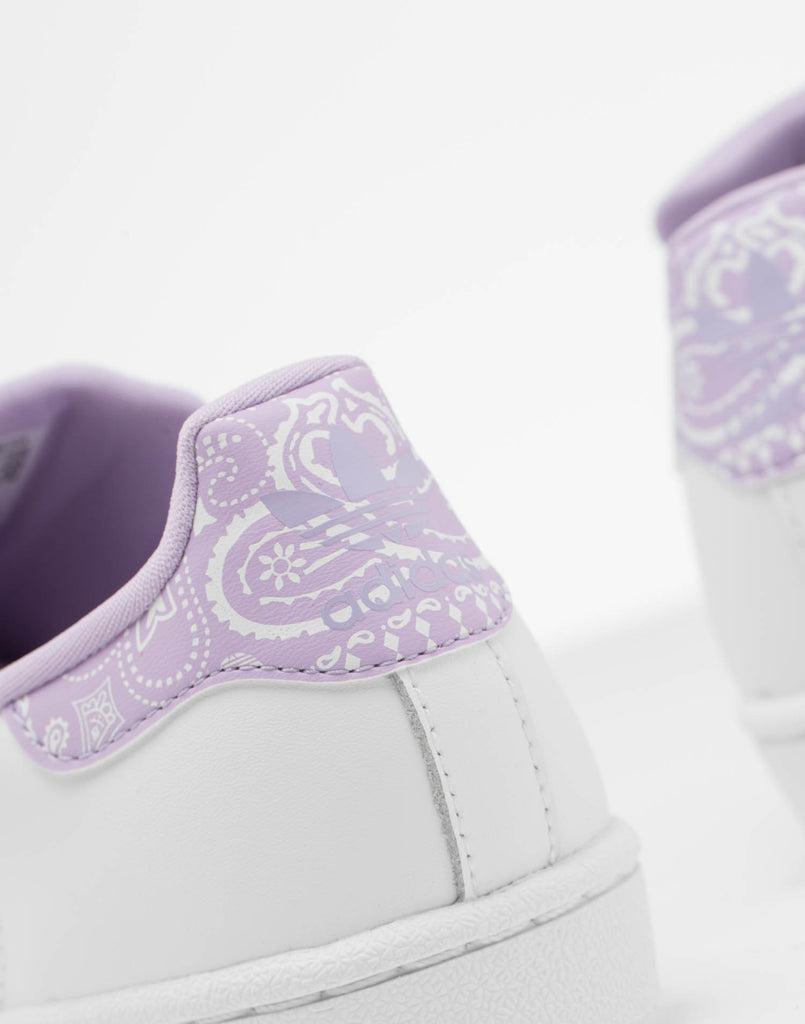 Adidas Kids Superstar J WhitePurple