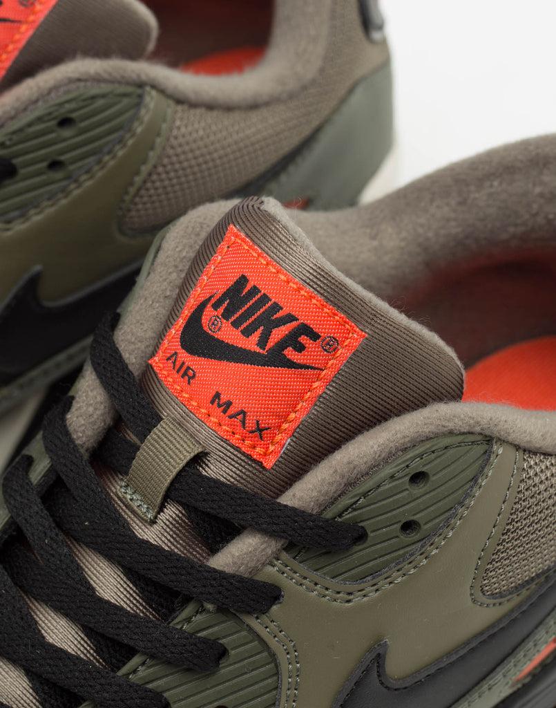 Nike Air Max 90 Essential OliveBlackOrange