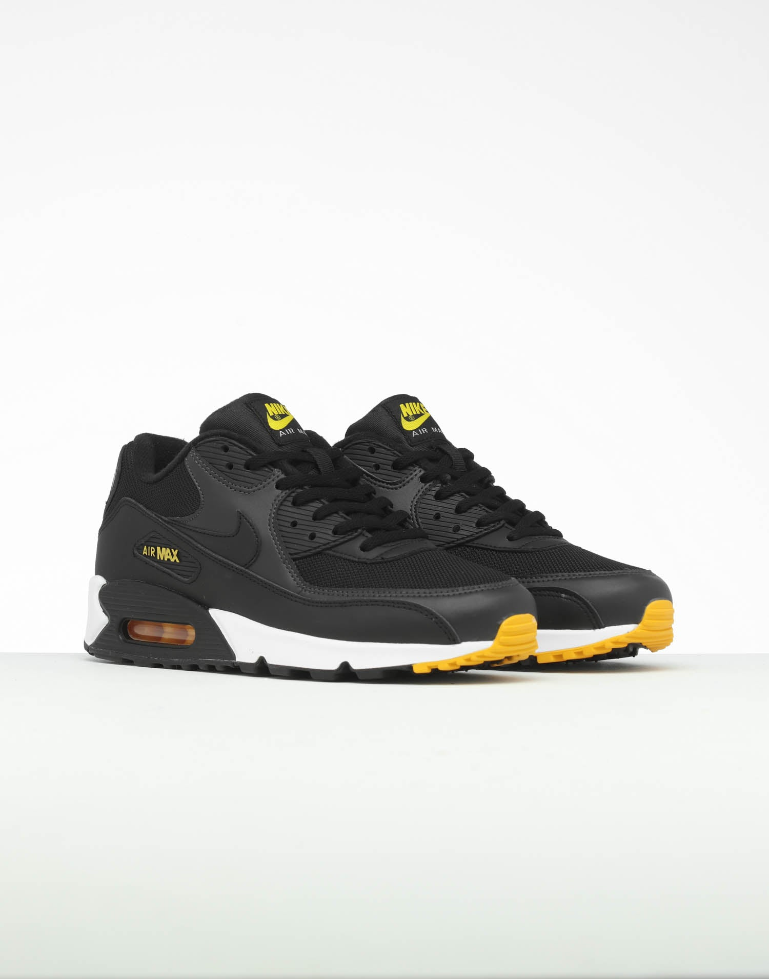 Nike Air Max 90 Essential White Yellow Black Red Mens R