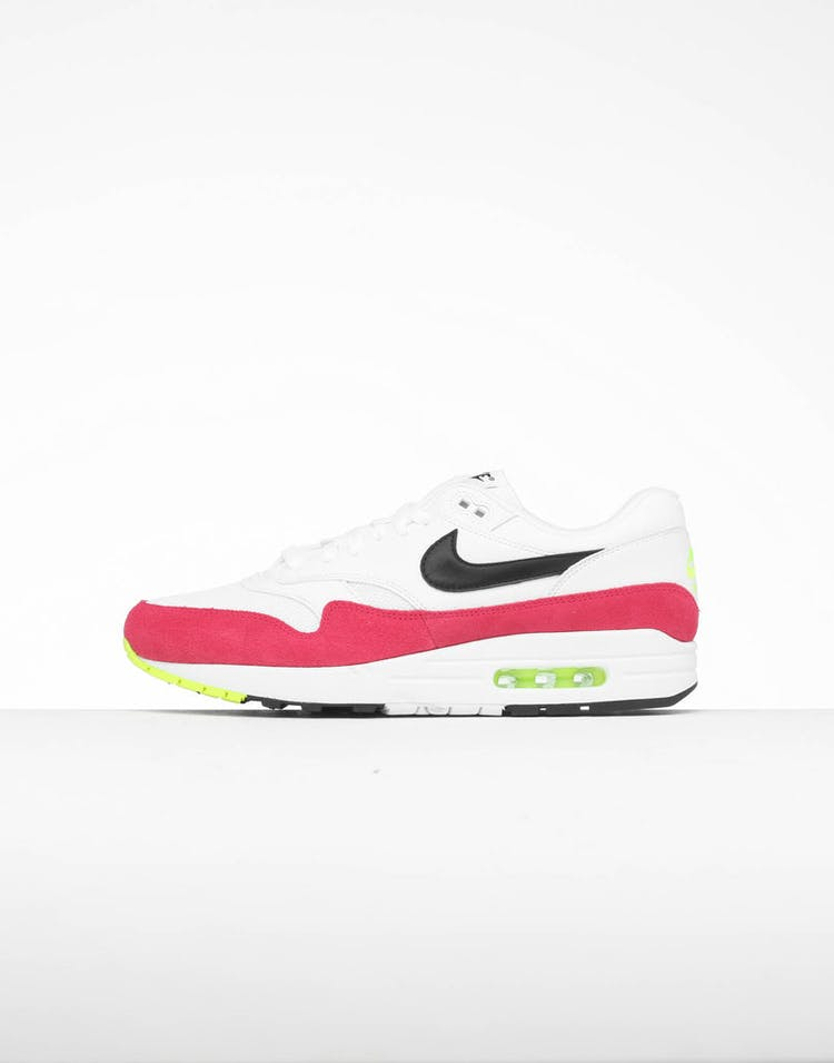 more photos 21bcb 7f9d5 Nike Air Max 1 Pink White Black – Culture Kings