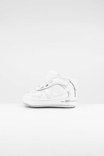 Nike Air Force 1 Crib Bootie (CB) White/White/White